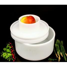 Форма для сыра на 2000-3000г, цилиндрическая, под пресс