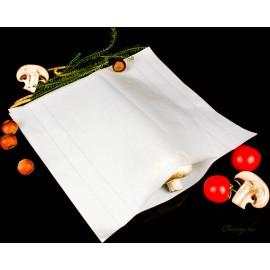 Двухслойная бумага для хранения и созревания сыра, пачка 500 листов 21,5х21,5 см