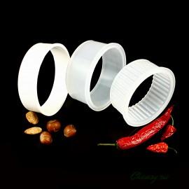 Набор форм для сыра Сулугуни, кольца без дна