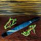 Нож-лопатка прямой 48х4 см для нарезания сырного сгустка