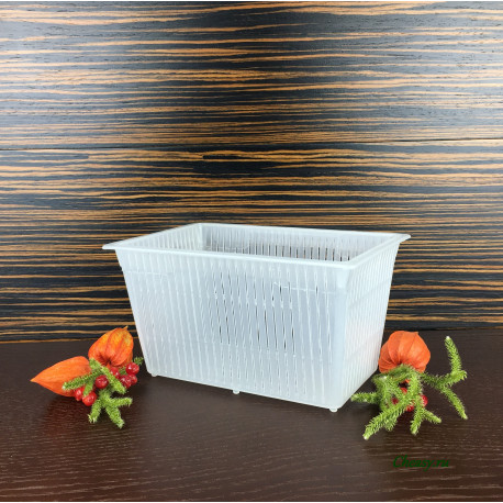 Форма для сыра на 1500г, прямоугольная корзинка