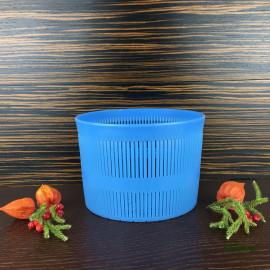 Форма для сыра на 3000г, плетеная корзинка с двухсторонним рисунком дна, тип Канестрато (Canestrato)