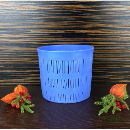 Форма для сыра на 1500г, плетеная корзинка с двухсторонним рисунком дна, тип Канестрато (Canestrato)