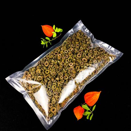 Оливки сушеные резанные зеленые, 500г