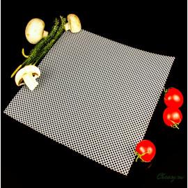 Коврик дренажный полимерный белый 25х25 см