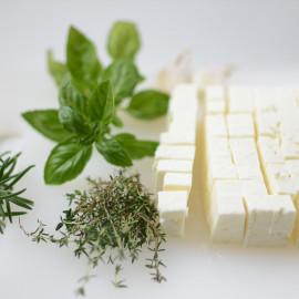 Ингредиенты для сыра Фета из козьего молока (на 100л)