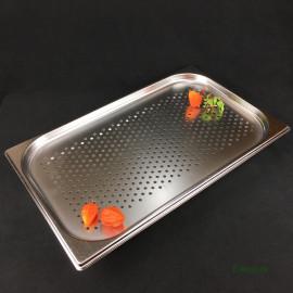 Поддон и гастроемкость перфорированная 1/1, комплект, нержавеющая сталь