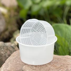 Форма для сыра на 150-200г, в контейнере без крышки, для Рикотты, Anelli Lodi