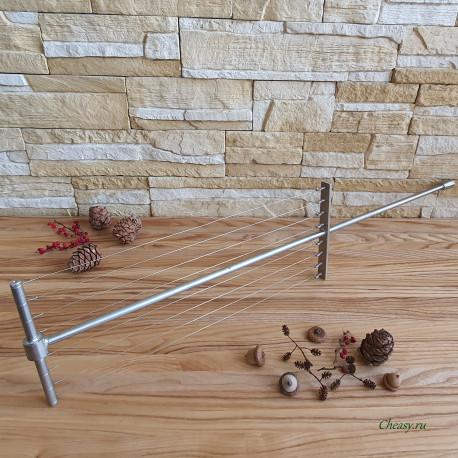 Лира для сыра вертикальная, струнная, 400х155 мм