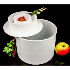Форма для сыра до 3,2 кг с крышкой-поршнем, Franz Janschitz