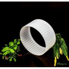 Форма для сыра, кольцо (без дна) (цилиндрическая перфорированная полимерная d100x58mm)