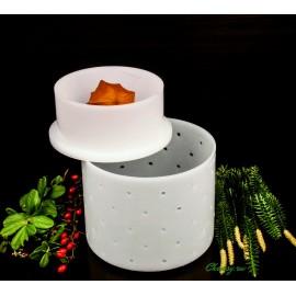 Форма для сыра 0.8л с крышкой-поршнем Franz Janschitz