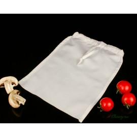 Мешок лавсановый со шнурком прямоугольный 24х21